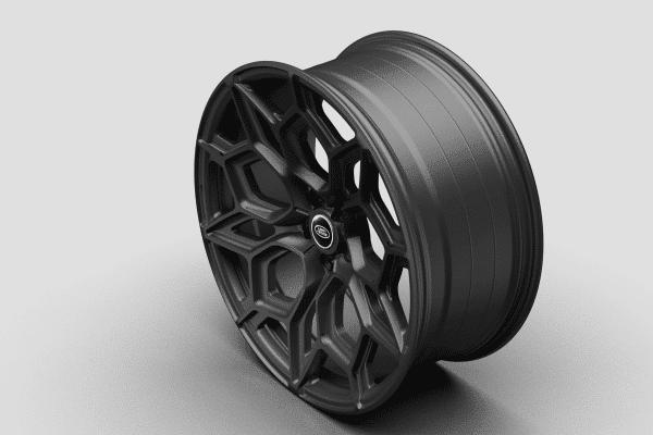 Satin Black New Defender Wheels kahn